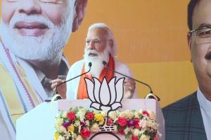 Modi slams Cong-DMK's 'anti-women' mindset