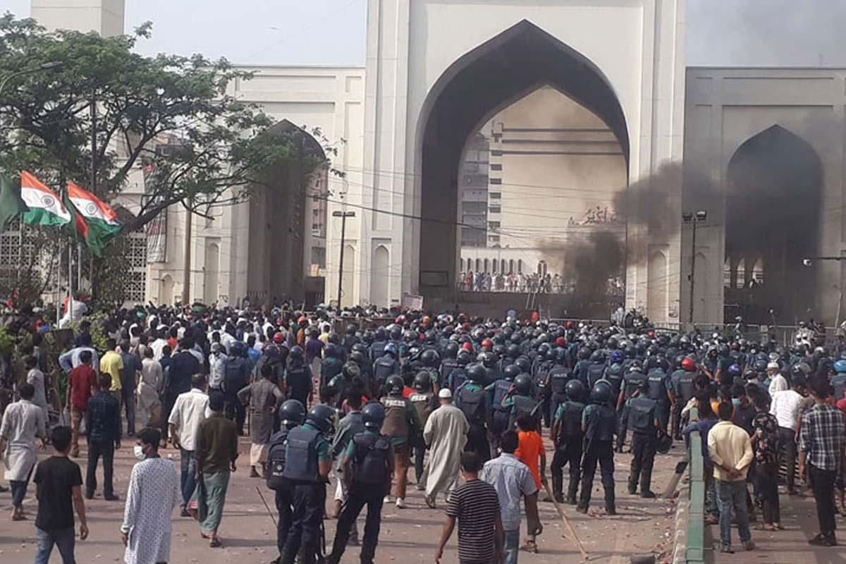 Islamists clash, Bangladesh, PM Modi