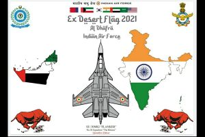 IAF participates in Exercise Desert Flag-VI hosted by UAE