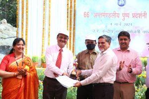 66th Inter Divisional Flower Show organized at Sarojni Nagar Nursery