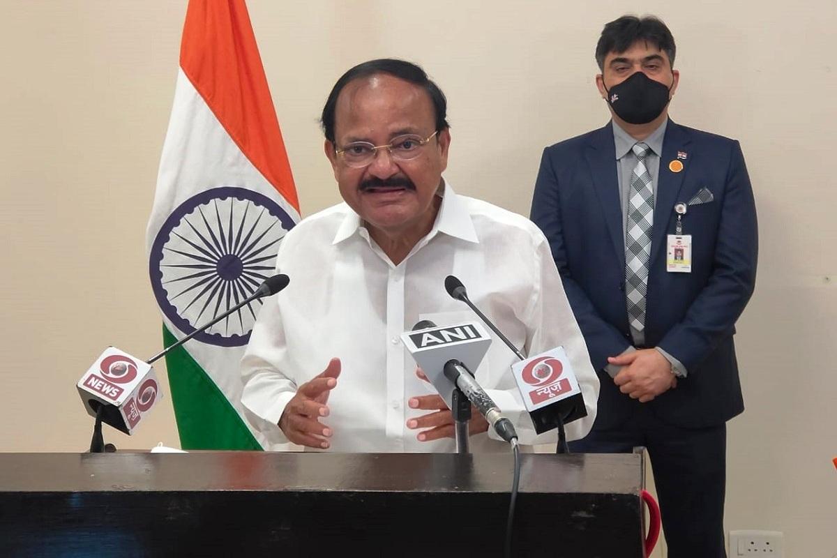 emerging diseases, M Venkaiah Naidu, COVID-19 pandemic, Global Bio India-2021, Narendra Modi, Make in India, Atmanirbhar Bharat