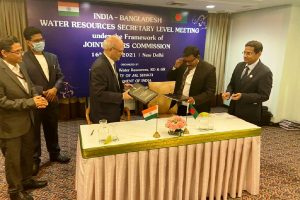 India and Bangladesh agree to expand cooperation over issues of water resources