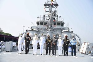 Indigenously built Indian Naval Landing Craft L58 Commissioned at Port Blair