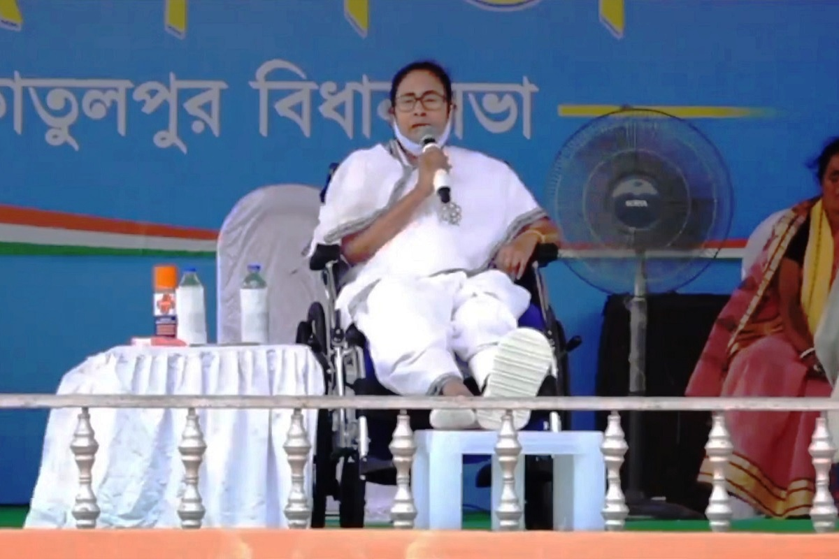 West Bengal Assembly Election 2021, West Bengal chief minister and TMC supremo Mamata Banerjee, Election Commission (EC), violated poll code,