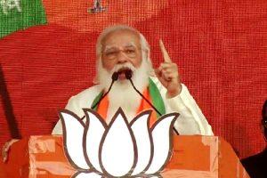 Trinamool breaking records of harassment, corruption: Modi