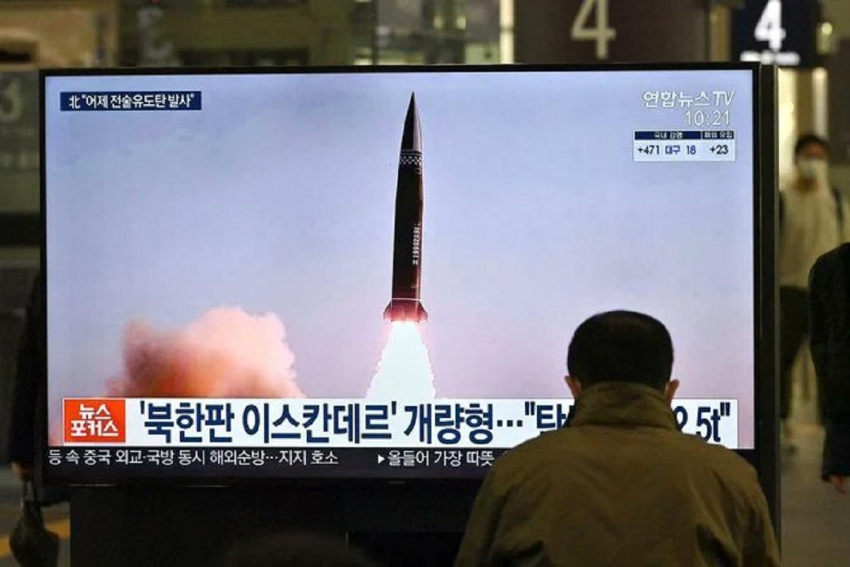 NK flexes muscles, North Korea, Joe Biden, United States, Japan