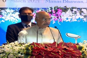 Objective of judicial system not only to resolve disputes but also to uphold justice: President Kovind
