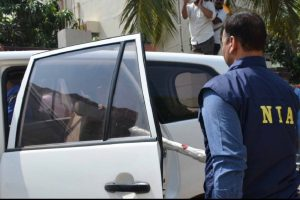 SUV case: Former cop, bookie sent to NIA custody till April 7