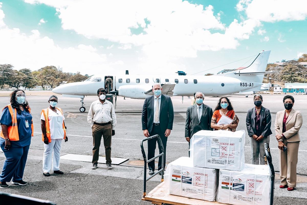 Saint Lucia, India, Covishield vaccines, Made in India, Covishield, Allen Chastanet, Narendra Modi, AstraZeneca