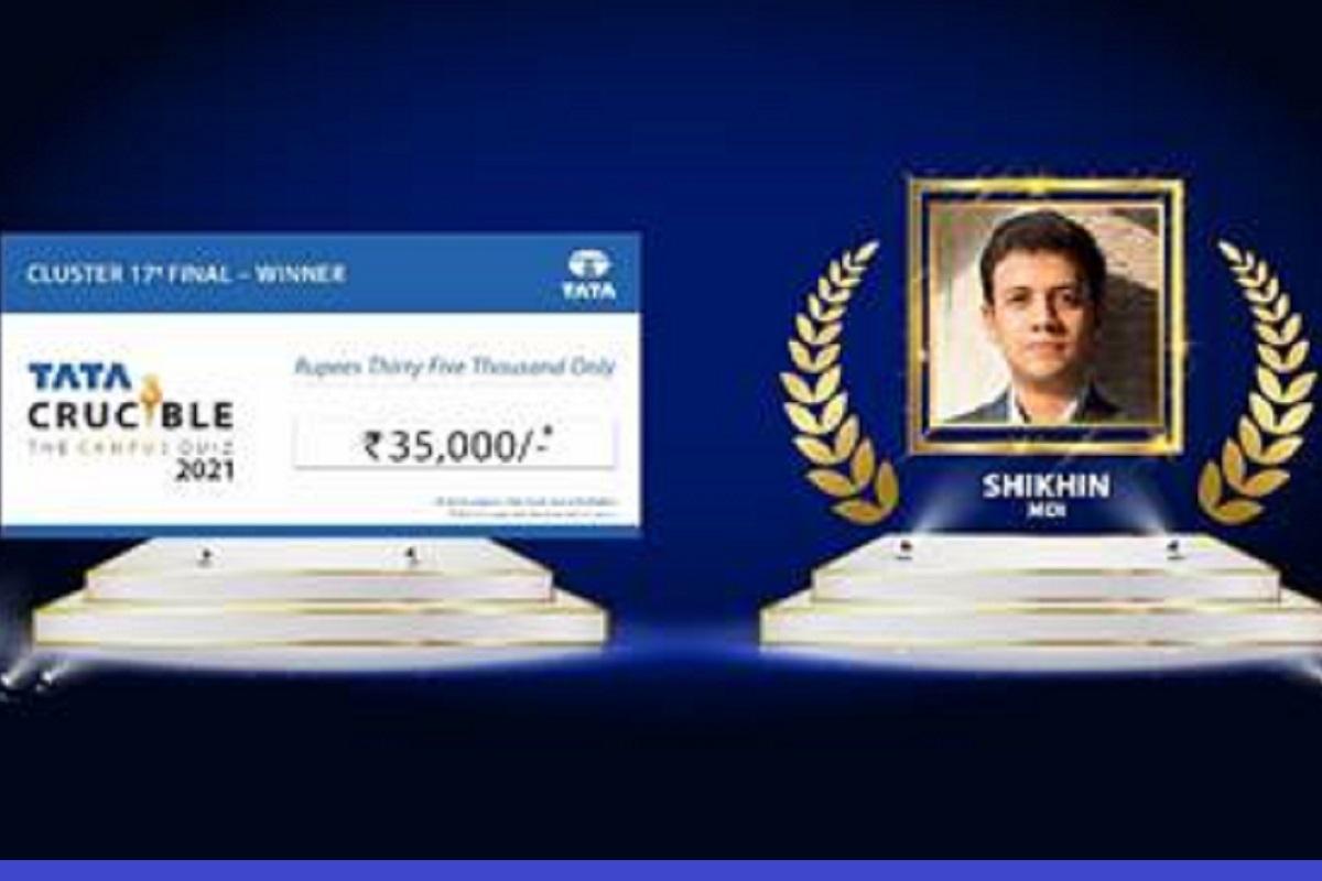 Shikhin Garg, MDI Gurgaon, Cluster 17 Finals, business quiz