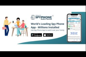 Spy Phone mobile tracker application for the safety and security of your loved ones