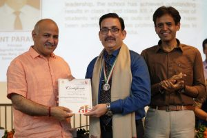 Delhi govt honours 98 teachers and school principals for outstanding contribution to school education