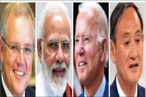 1st Quad summit to talk Indo-Pacific, Covid-19