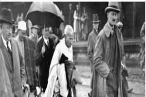 Gandhi and dress