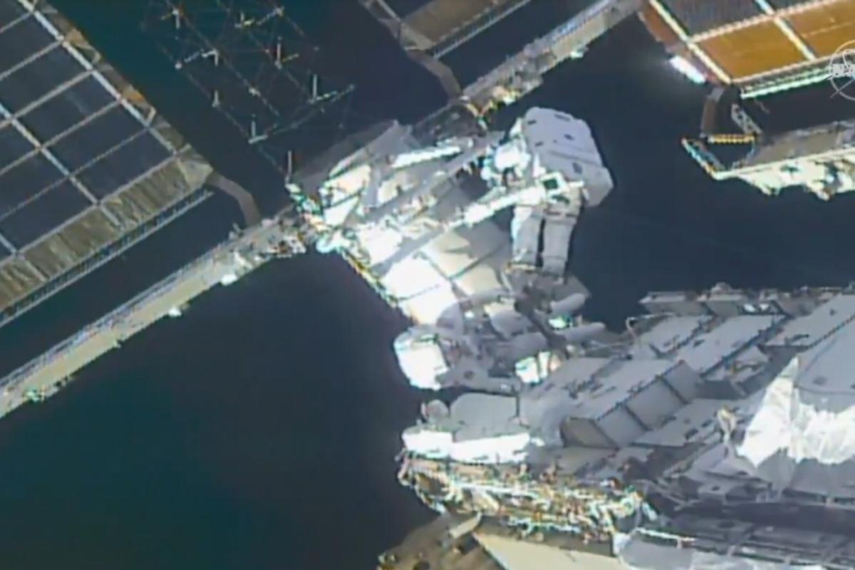 NASA astronauts complete 7 hour-long spacewalk - The Statesman