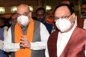 Amit Shah, JP Nadda meet West Bengal leaders to shortlist candidates