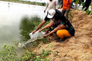 These teachers & school kids gave fresh lease of life to Hyd lake