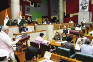 Khattar presents 1.55L cr Haryana Budget for 2021-22