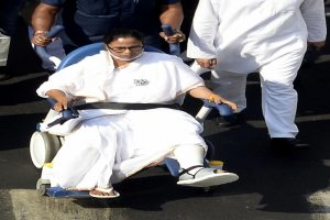 'People's pain is greater than my pain': Wheelchair-bound Mamata Banerjee says at Purulia rally