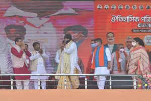 West Bengal Assembly Elections: Actor Mithun Chakraborty joins BJP ahead of PM Modi's rally