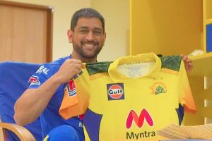 CSK unveils new, camouflage IPL jersey, a tribute to armed forces