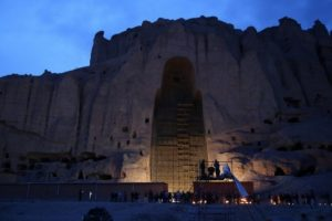 Afghans commemorate destruction of 2 Buddha statues