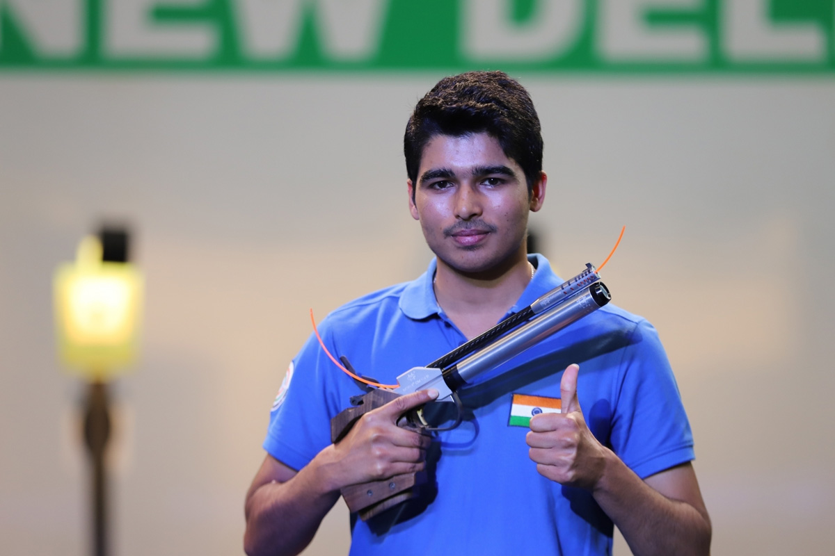 World Cup, Indian shooters, gold