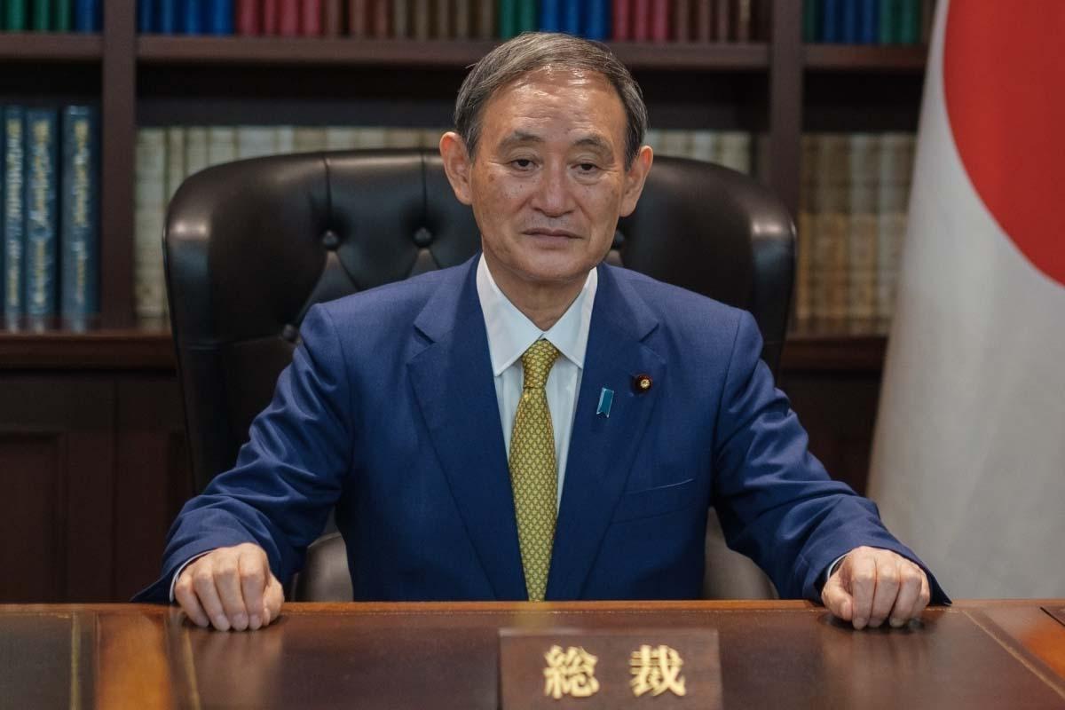 Japan PM, Yoshihide Suga, Pfizer vax