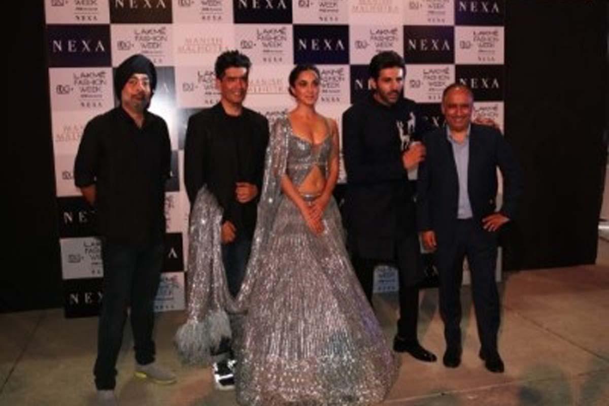 Kiara Advani, Kartik Aryan, Manish Malhotra