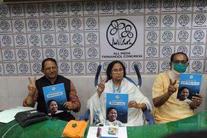 Mamata Banerjee releases Trinamool manifesto, promises 5L jobs each year