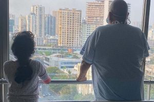 Satish Kaushik shares photo with daughter, says they are recovering from Covid