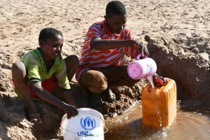 'Lack of clean drinking water global moral failure'