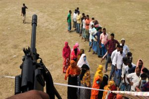 Bloodshed in 4th phase polling; 5 dead