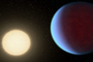 Why this exoplanet is at large distance from sun-like star