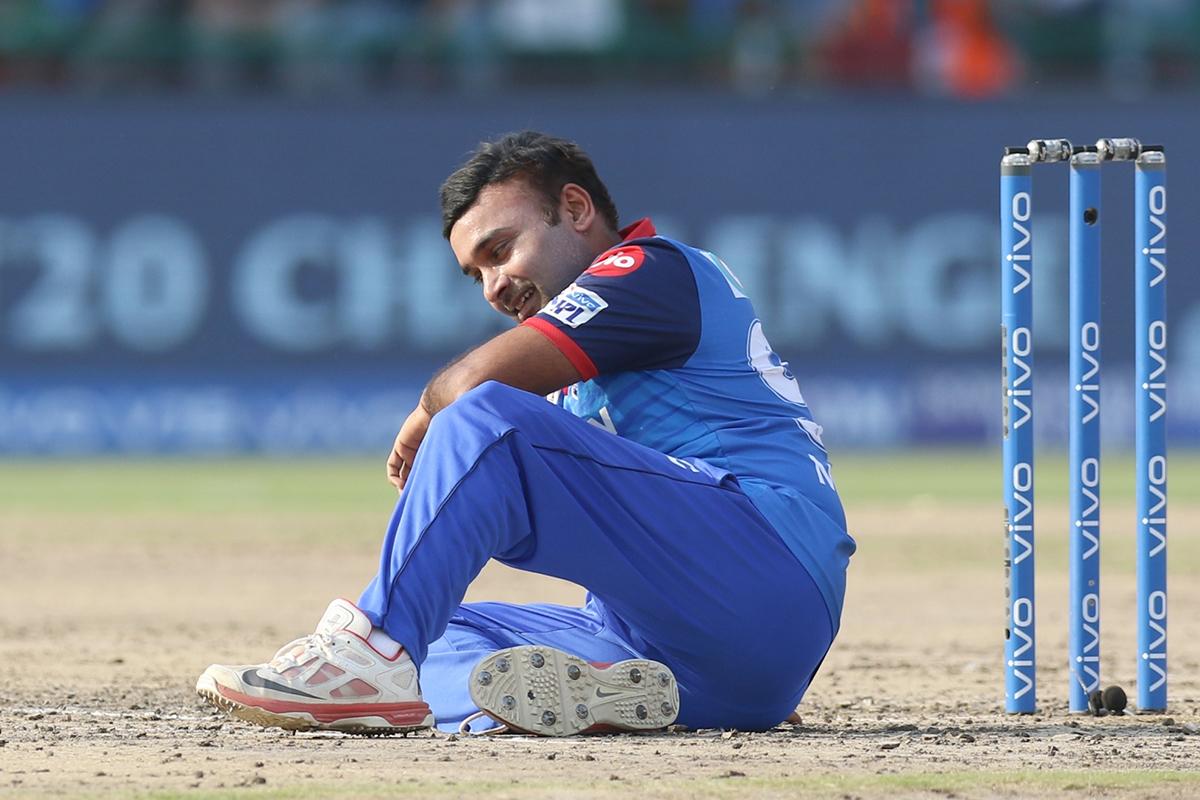Amit Mishra, DC vs MI, IPL