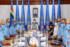 Rajnath hails IAF for befitting response during LAC stand-off