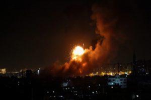 Israel strikes Gaza sites in retaliation