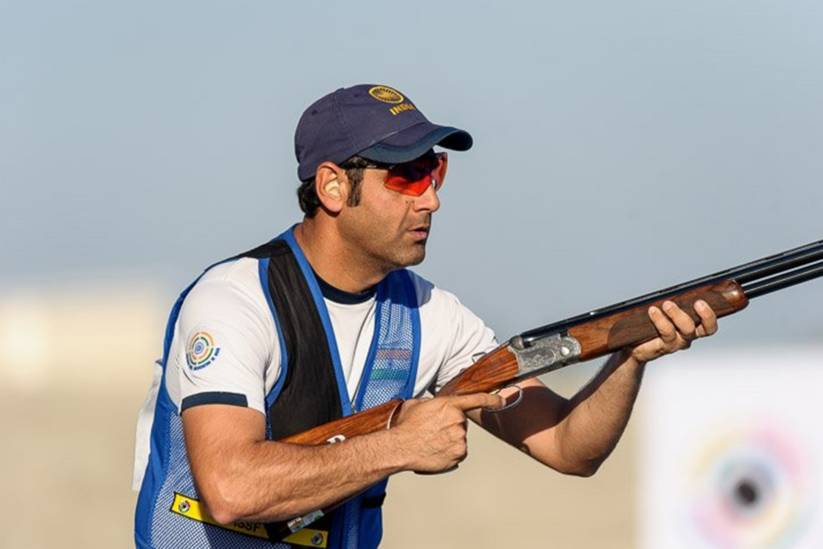 Mairaj Ahmad Khan, shotgun, olympic, Roger Federer, inspiration