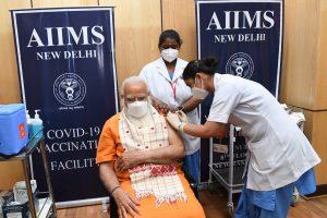 'Vaccination can defeat virus': PM Modi takes second dose of COVID-19 vaccine