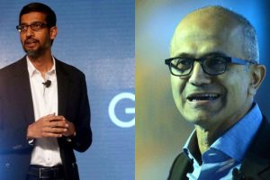 Amidst frightening COVID-19 situation in India, Google's Pichai, Microsoft's Nadella promise to support India