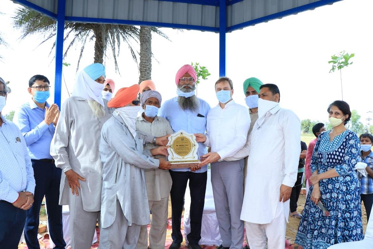 ABGUS, Akhil Bhartiya Gramin Uthan Samiti, Hindustan Unilever Limited, Water Management Project, Village Dhingi, District Patiala, Punjab