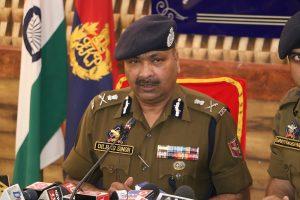 Amid heightened terror activity on borders, J&K DGP orders strengthening of intelligence network