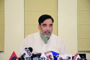Gopal Rai visits WHO building site, finds violation of anti-dust guidelines