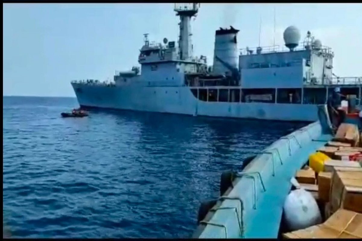 Indian Navy, Oxygen Express, COVID 19