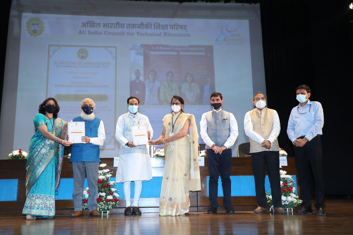 AICTE, Lilawati Awards 2020, Ramesh Pokhriyal 'Nishank'