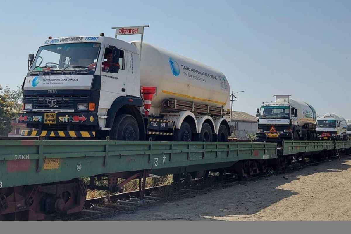 Oxygen Express, Haryana, Telangana