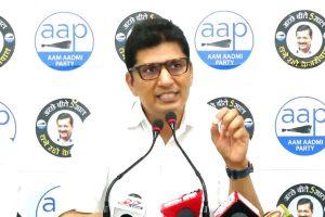 BJP looted MCD by putting up advertisements worth crores: Saurabh Bhardwaj