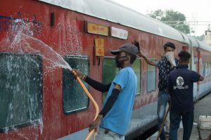 Wearing face cover/ mask compulsory in Railway premises, including trains