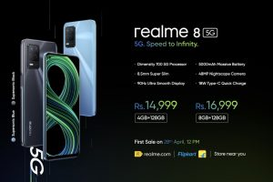 Realme 8 5G launched in India starting at Rs 14,999