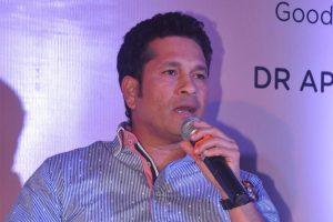 Tendulkar donates Rs 1 crore to 'Mission Oxygen'